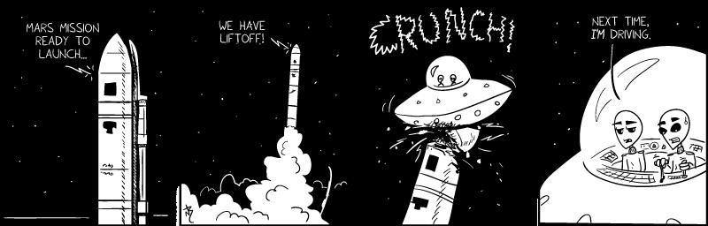 Mars Mission Debacle