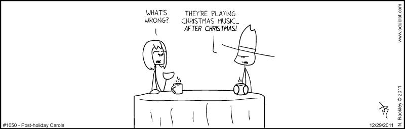 Post-Holiday Carols