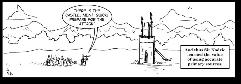 Sir Nodric and the Cardboard Castle
