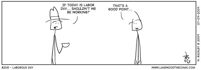Laborious Day