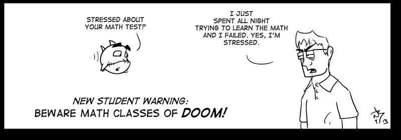 Math class of DOOM