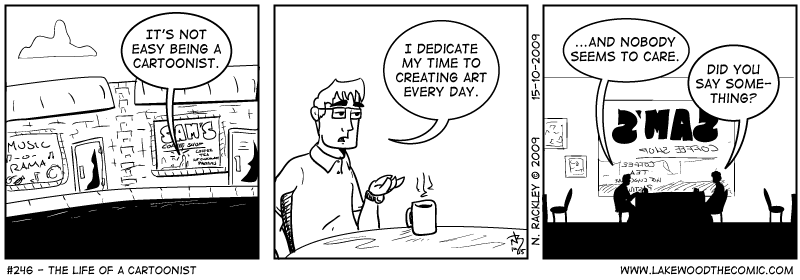 The Life of a Cartoonist