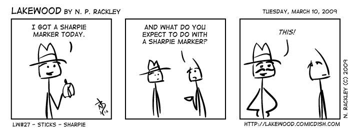 Sticks - Sharpie