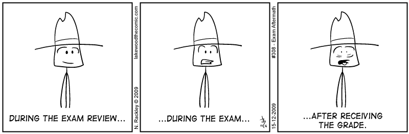Exam Aftermath