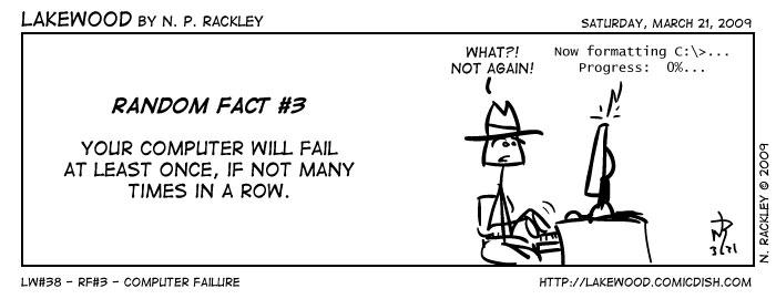 RF#3 - Computer Failure