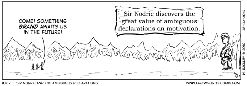 Sir Nodric and the Ambiguous Declarations