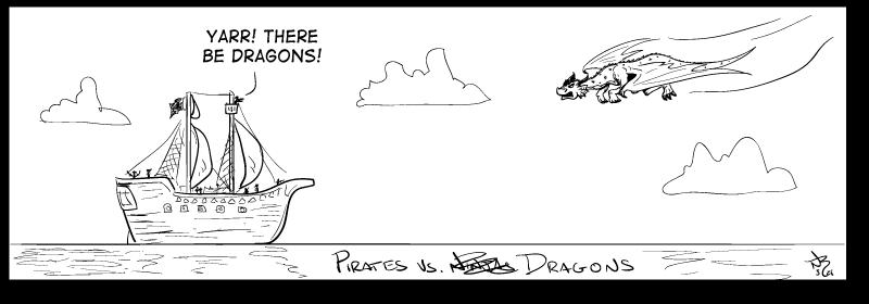 Pirates vs. Dragons