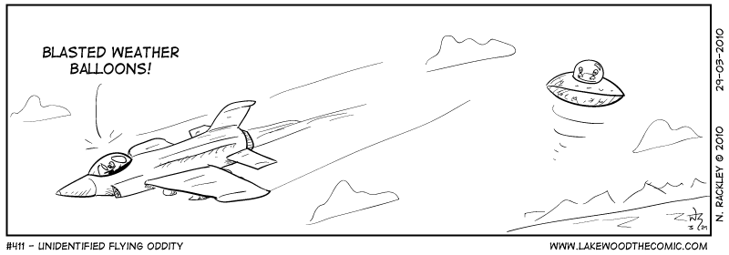 Unidentified Flying Oddity
