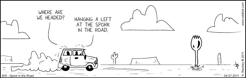 Spork in the Road
