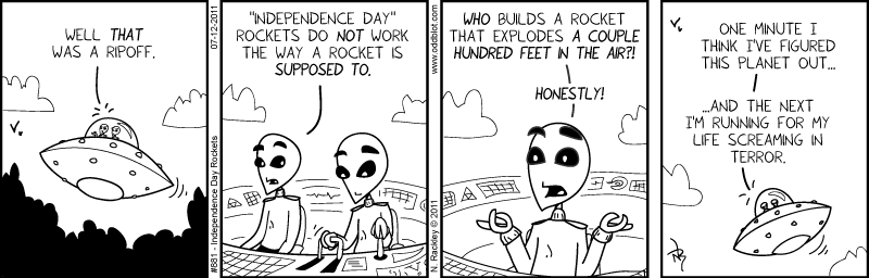 Independence Day Rockets