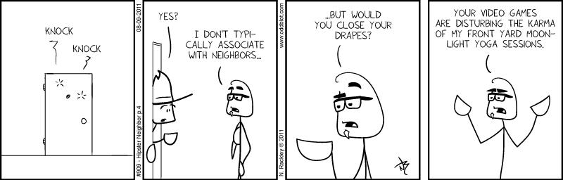 Hipster Neighbor p.4