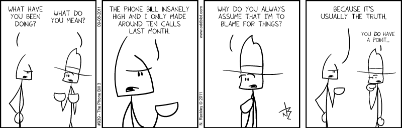 The Phone Bill 3