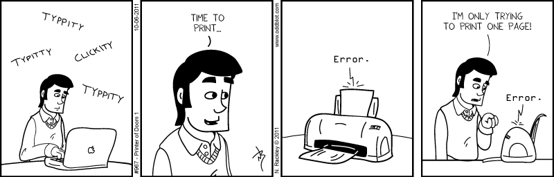 Printer of Doom 1