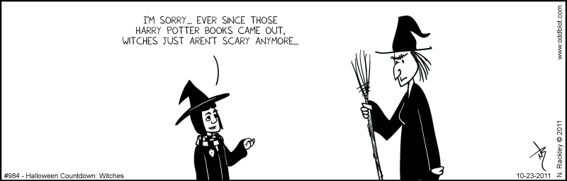 Halloween Countdown - Witches