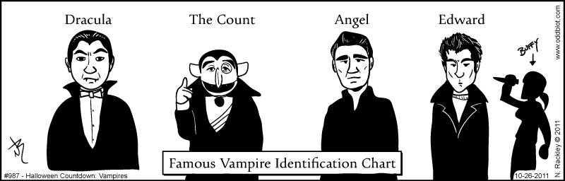 Halloween Countdown: Vampires