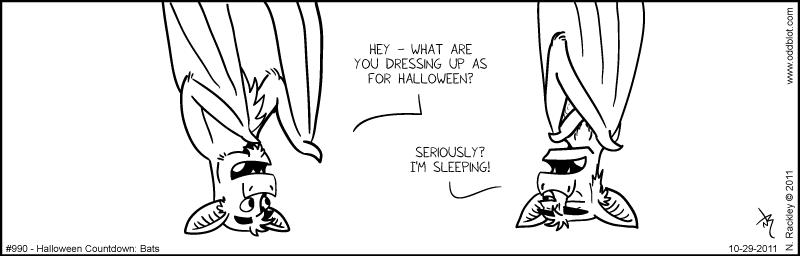 Halloween Countdown: Bats