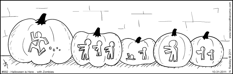 Halloween is Here... with Zombies...