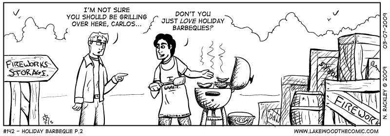 Holiday Barbeque p.2